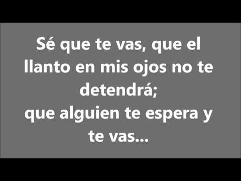 Ha*Ash (Primera Fila)-Sé Que Te Vas Ft Matisse Con Letra/with Lyrics