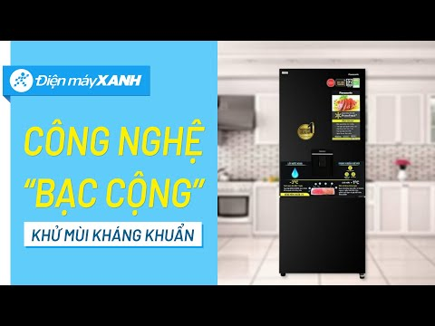 Tủ lạnh Panasonic: ngăn cấp đông mềm, lấy nước ngoài (NR-BXGPKV) • Điện máy XANH