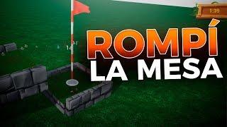 AQUÍ ROMPÍ LA MESA 😂 Golf It!