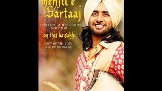 Satinder Sartaj live at  sri fort auditorium