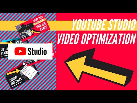 How To (FULLY) Optimize Videos In NEW YouTube Studio!