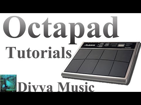 Instrument Tutorials | Octapad Basic Tutorial | Learn Drums and Octapad Online | Divya Music