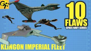 10 Flaws KLINGON IMPERIAL FLEET (Star Trek)
