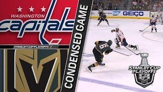 Washington Capitals vs Vegas Golden Knights Cup Final, Gm2 May 30, 2018 HIGHLIGHTS HD