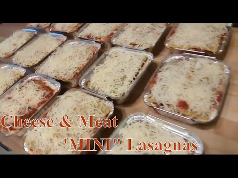 Make Ahead Freezer Meals / Dinner OR Lunch Ready