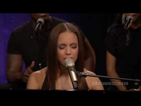 Alicia Keys - Doesn't Mean Anything LIVE @ AOL Sessions