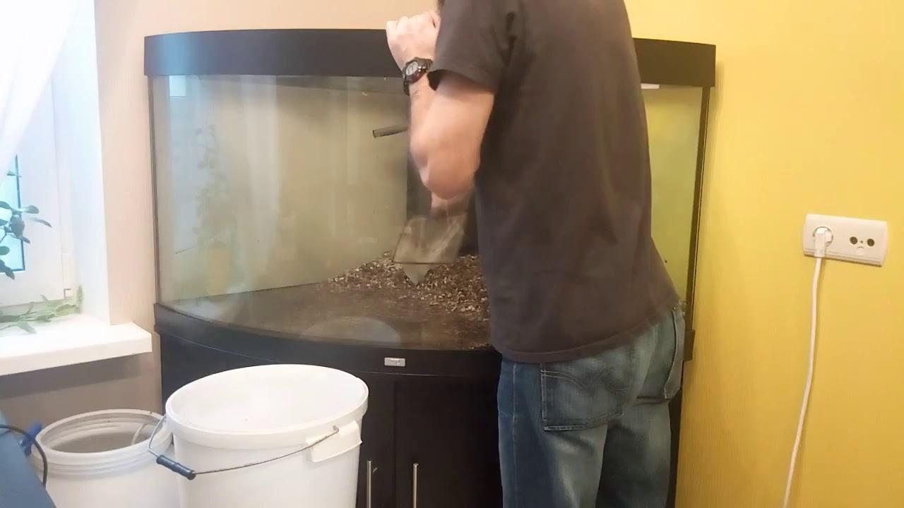 Как правильно подготовить большой аквариум с рыбами к переезду  Перевозим аквариум juwel trigon 350