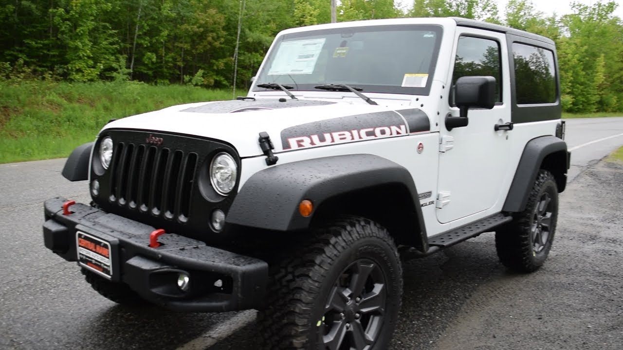 2017 Jeep Wrangler Rubicon Recon Edition At A Glance Central Maine Chrysler Dodge Ram