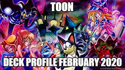 TOON DECK PROFILE (FEBRUARY 2020) YUGIOH!