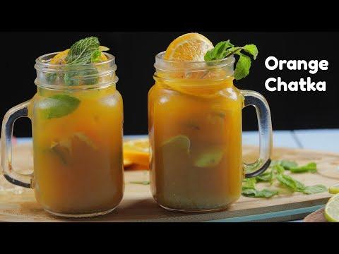 ORANGE CHATKA   Best Orange Chatpat  Mocktail   Best Party Mocktail