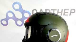 Обзор шлема SHARK RAW SOYOUZ от ПАРТНЕР-МОТО(Купить шлем Shark Raw Soyouz можно тут http://www.partner-moto.ru/product/item_SHARK-Raw-Soyouz-Mat-zelen-krasnyiy-shlem/, 2015-05-07T21:22:29.000Z)
