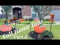 🍁Fall Home Tour🍁Part 4🍁Front Porch🍁