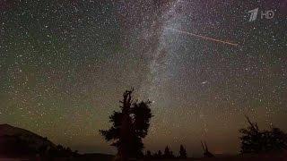 Земля проходит через метеорный поток Персеиды – небо украсил настоящий звездный дождь.