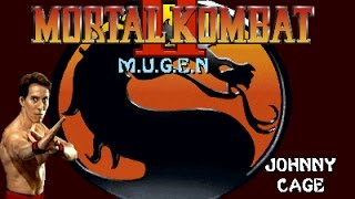 Mortal Kombat II (MUGEN) - Johnny Cage Playthrough