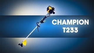 Видео Триммер 0,87 л с, CHAMPION, T233 (автор: AzbukaInstrumenta)