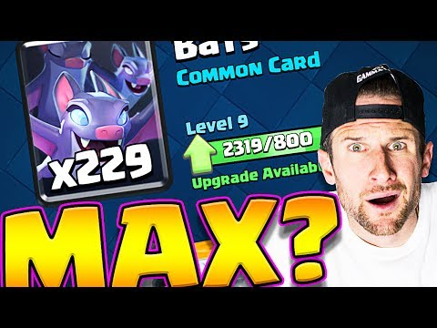MAX BATS!? • Clash Royale CHEST OPENING! • Can We Do It!?