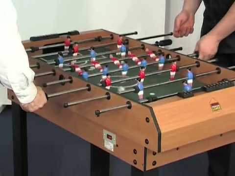 MadFun.co.uk   4 In 1 Multi Games Table BCE M4B 1 Air Hockey Pool Table  Football   YouTube