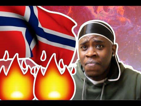 Reacting to Norwegian Music (Hkeem, Blvck O, Karpe DIem)
