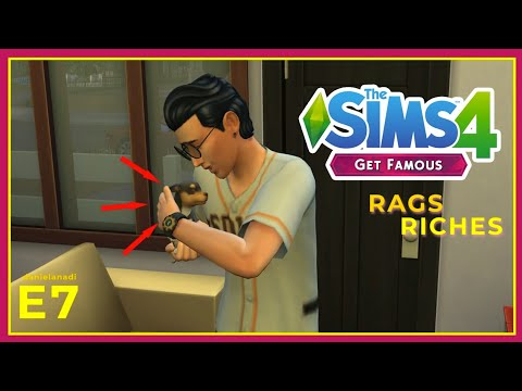 TEMAN BARU DUSTIN!! | #7 | TheSims 4 Rags To Riches Indonesia
