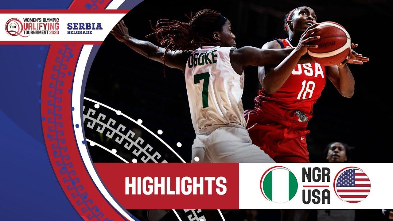 #LASTTIMETHEYMET Nigeria v USA - Highlights