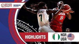Nigeria v USA - Highlights - FIBA Women's Olympic Qualifying Tournament 2020