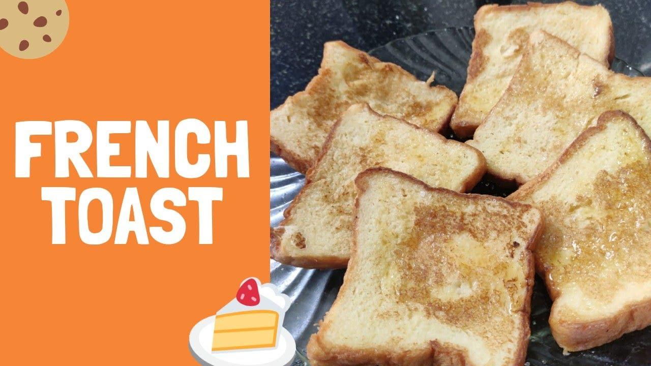 french toast/ sweet bread snack/ easy breakfast recipe ...