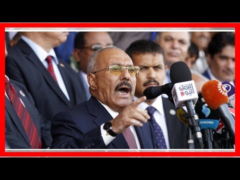 TODAY NEWS - Strongman ousted ali abdullah saleh was killed after switching sides in the war in Yem