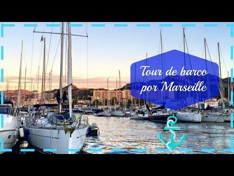 Tour de Barco por Marselha
