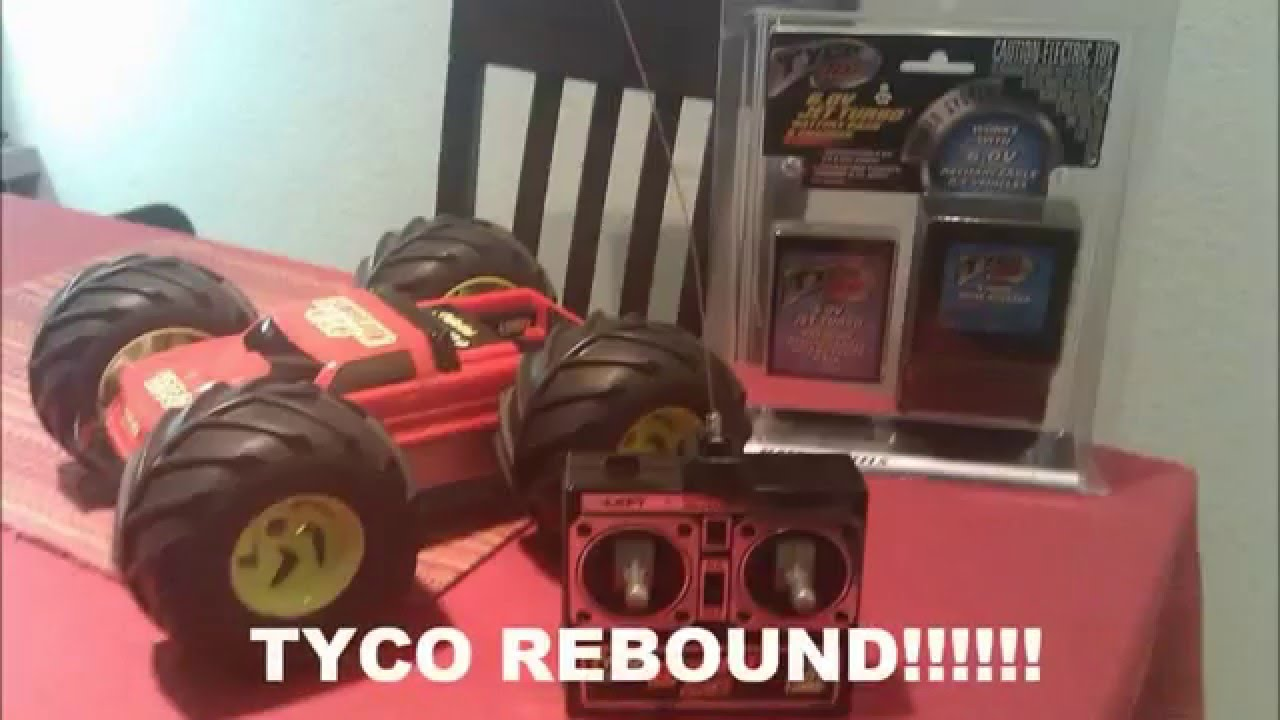 Tyco Rebound 4x4 Rc Car Best Rc Toy From The 90s Youtube