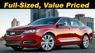 2016 Chevrolet Impala V6 Review and Road Test - Detailed in 4K