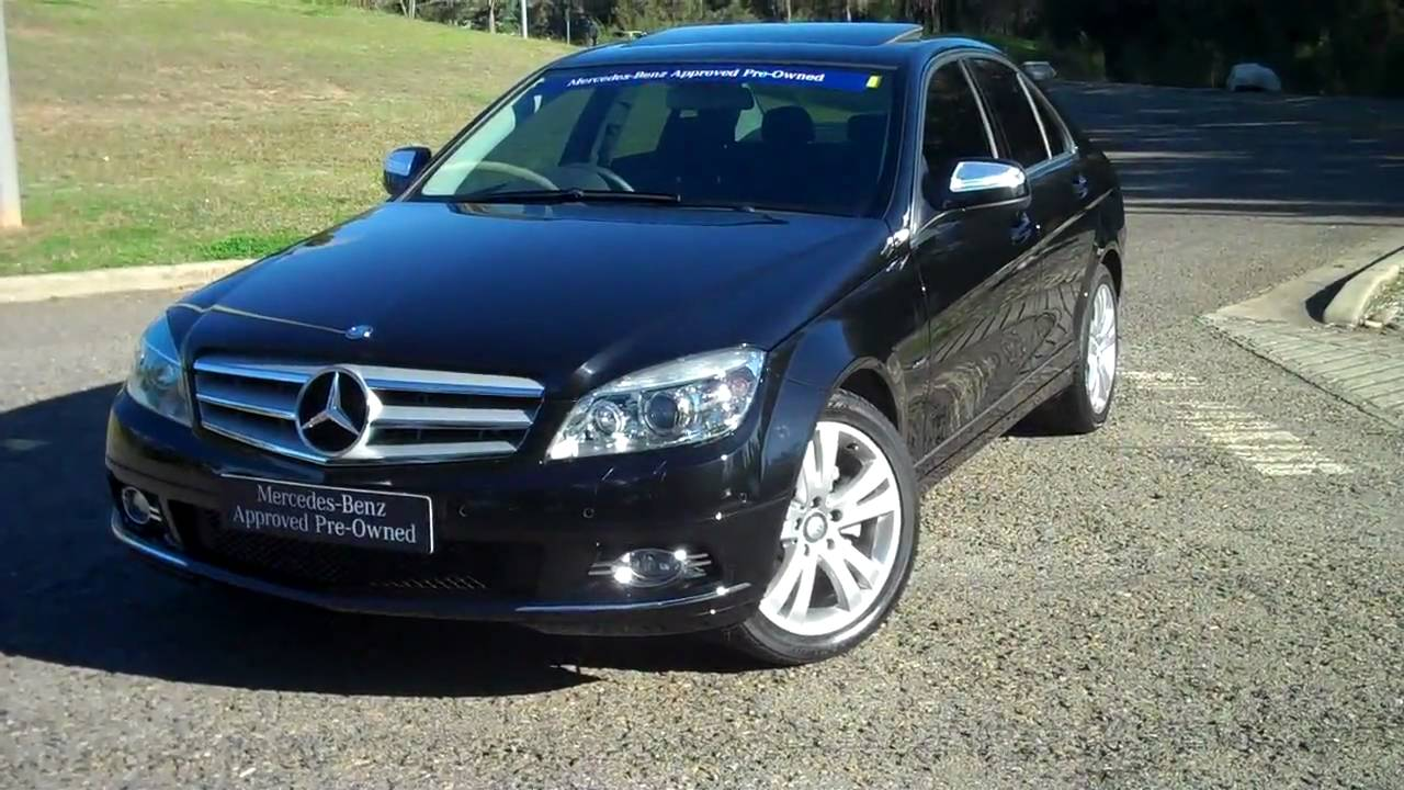 2008 mercedes-benz c 200 kompressor avantgarde - youtube