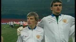 Россия Англия 2:1  October 2007