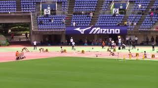 2018学生個人選手権陸上 女子200m 準決勝1~3 thumbnail