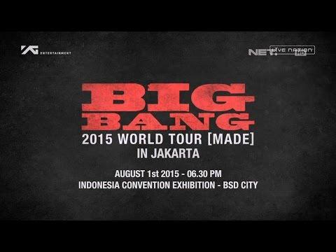 Press Conference Konser Big Bang 2015 di Jakarta