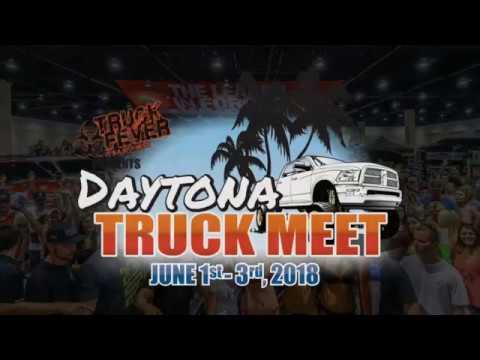 Daytona Truck Meet YouTube - Daytona spring car show 2018