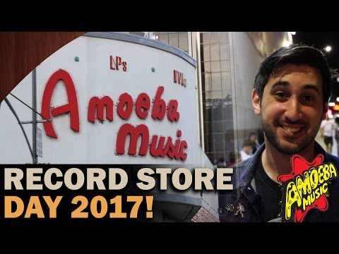 Record Store Day 2017 at Amoeba Music in Hollywood