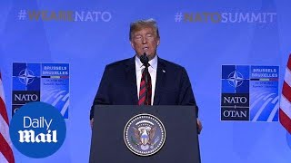 Donald Trump says US NATO commitment is 'very strong' - Daily Mail