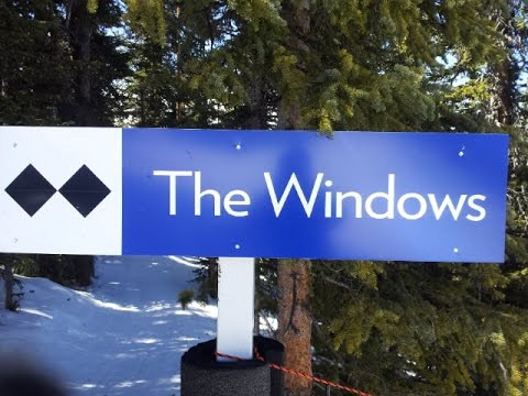 Breckenridge Mtn Tour: The Windows - #1 (Expert, Trees)