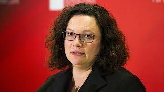 SPD-Putschgerüchte: Attacken aus Bayern auf Parteichefin Nahles   Kontrovers   BR Fernsehen