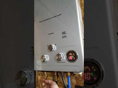 Ebay Tankless Water Heater 18L