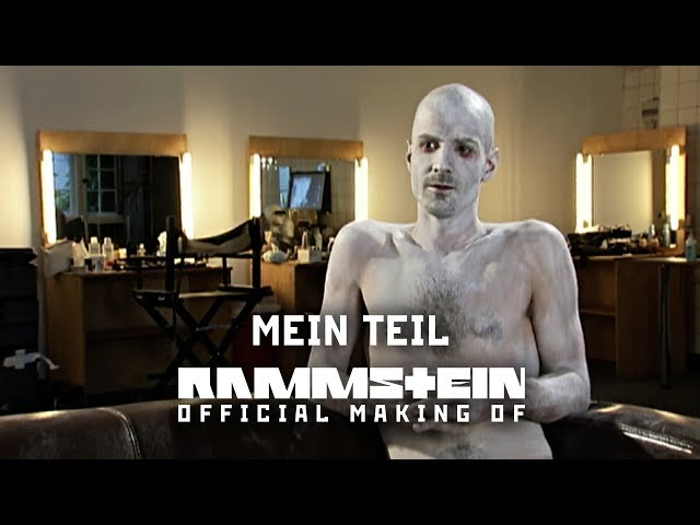Rammstein Mein Teil Official Making Of Youtube