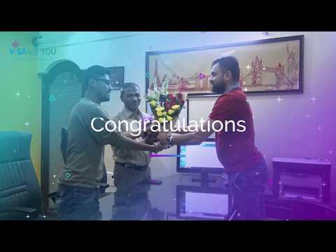 Congratulations!! Mr. Vivek Sutar (Chef) on getting Australian PR Visa (Subclass 190).