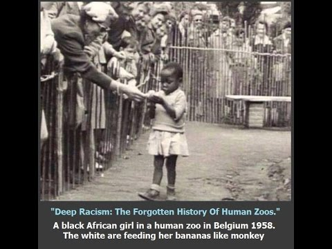 Human zoos, Dunking booths, African dodger, Hit the trigger