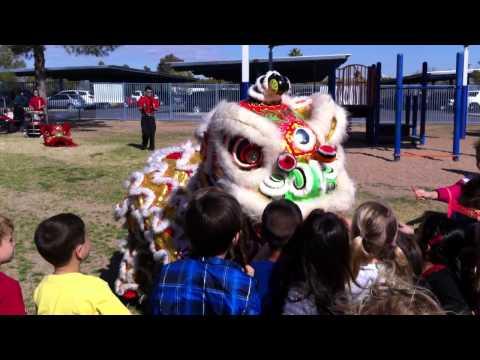 2013 Chinese New Year celebration at Cherokee Elementary School