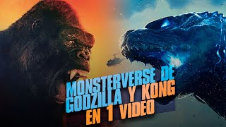 El Monsterverse de Godzilla Vs Kong : La Historia en 1 Video