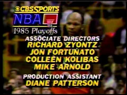NBA Playoffs 1985