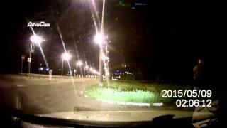Видеорегистратор заснял приведение В Краснодаре