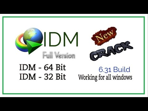 Internet Download Manager IDM 6.31 For Free + Serial Key Crack Full Version 2018