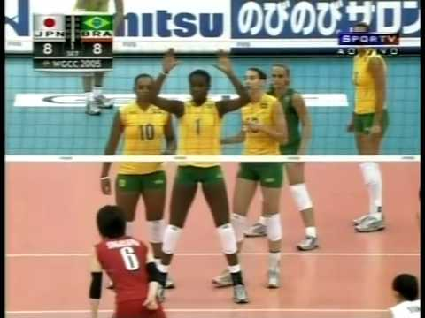 World Grand Prix 2006: Brazil x Japan from YouTube · Duration:  52 minutes 41 seconds