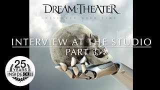 DREAM THEATER - Interview at the Studio Pt. 3